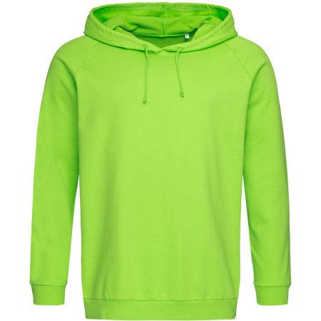 Unisex Hooded Sweatshirt in Kiwi Green von Stedman® (Artnum: S4200