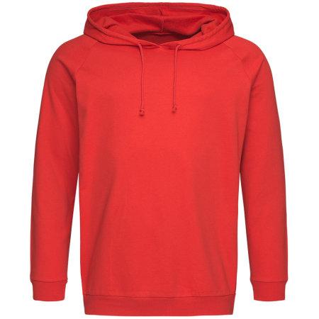 Unisex Hooded Sweatshirt in Scarlet Red von Stedman® (Artnum: S4200