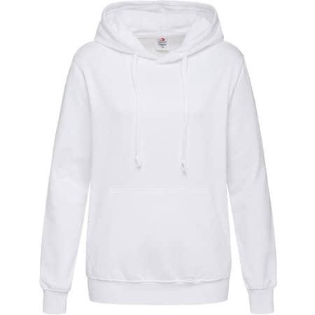Hooded Sweatshirt for women in White von Stedman® (Artnum: S421