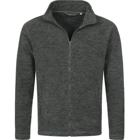 Active Melange Fleece Jacket von Stedman® (Artnum: S5060