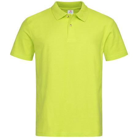 Short Sleeve Polo in Bright Lime von Stedman® (Artnum: S510