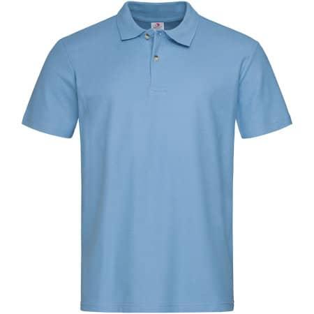 Short Sleeve Polo in Light Blue von Stedman® (Artnum: S510