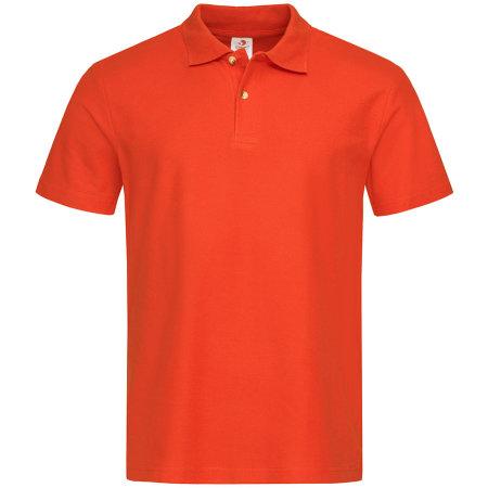 Short Sleeve Polo in Orange von Stedman® (Artnum: S510