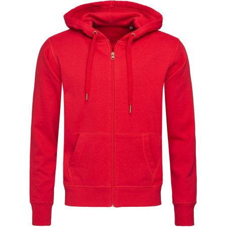 Active Sweatjacket in Crimson Red von Stedman® (Artnum: S5610