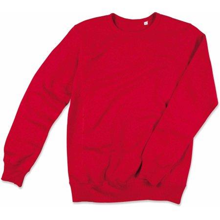 Active Sweatshirt in Crimson Red von Stedman® (Artnum: S5620