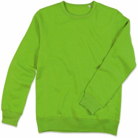 Active Sweatshirt in Kiwi Green von Stedman® (Artnum: S5620