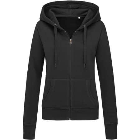 Active Sweatjacket for women in Black Opal von Stedman® (Artnum: S5710