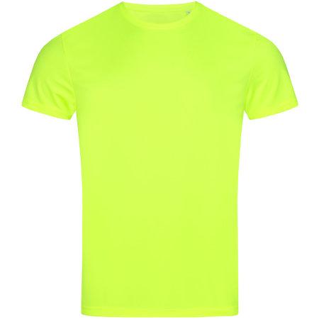 Active Sport-T Crew Neck in Cyber Yellow von Stedman® (Artnum: S8000