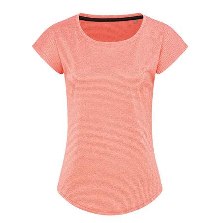 Recycled Sports-T Move Women in Coral Heather von Stedman® (Artnum: S8930