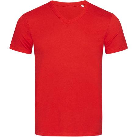 Ben V-Neck in Crimson Red von Stedman® (Artnum: S9010