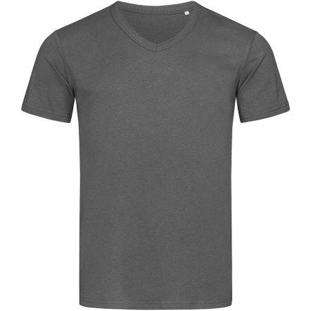 Ben V-Neck in Slate Grey (Solid) von Stedman® (Artnum: S9010