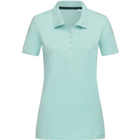 Hanna Polo for women in Frosted Blue von Stedman® (Artnum: S9150