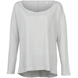 Sharon Oversized Slub Long Sleeve for women