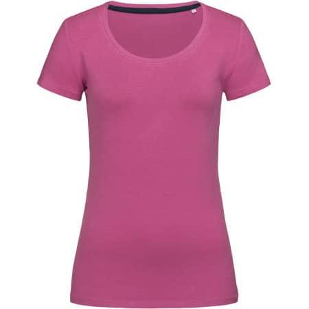 Claire Crew Neck for women in Cupcake Pink von Stedman® (Artnum: S9700