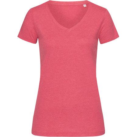Lisa V-Neck for women in Cherry Heather von Stedman® (Artnum: S9910