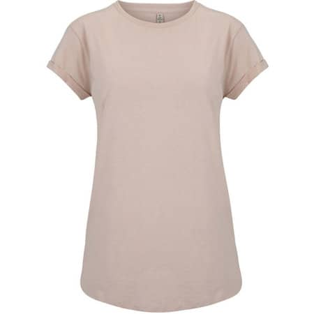 Salvage Womens Rolled Sleeve in Misty Pink von Continental Clothing (Artnum: SA16