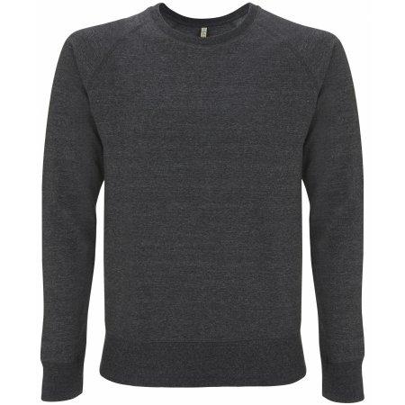 Salvage Unisex Sweatshirt in Melange Black von Continental Clothing (Artnum: SA40