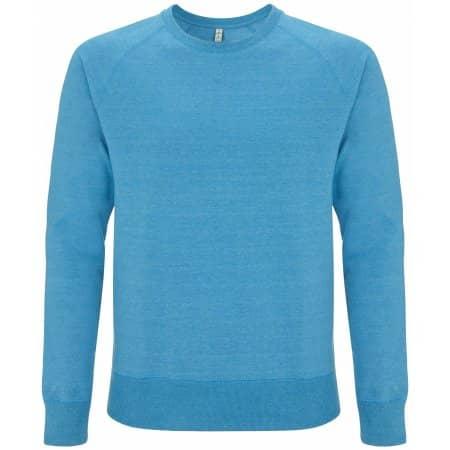 Salvage Unisex Sweatshirt in Melange Mid Blue von Continental Clothing (Artnum: SA40
