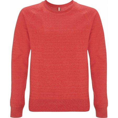 Salvage Unisex Sweatshirt in Melange Red von Continental Clothing (Artnum: SA40