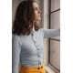 Thumbnail Hemden und Blusen: Anna Knitted Shirt SD047 von So Denim