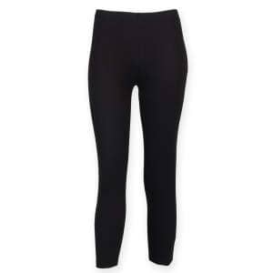 Ladies` 3/4 Length Leggings