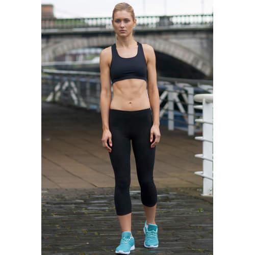 SF Women - Ladies` 3/4 Length Leggings