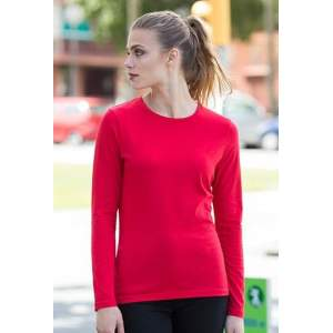 Ladies` Feel Good Long Sleeved Stretch T