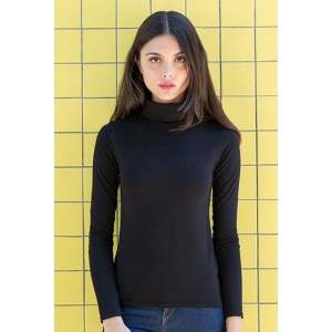 Women`s Feel Good Roll Neck Top