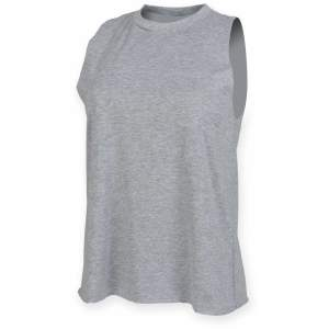 Ladies` High Neck Slash Armhole Vest