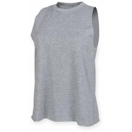 Ladies` High Neck Slash Armhole Vest von SF Women (Artnum: SF232
