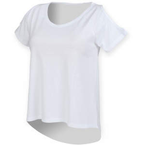 Ladies` Drop Tail T