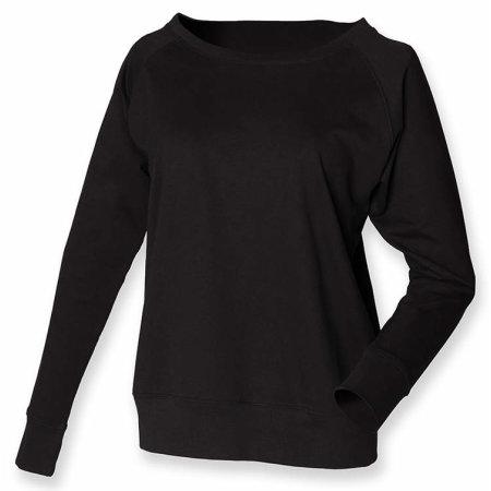 Ladies` Slounge Sweat in Black von SF Women (Artnum: SF513