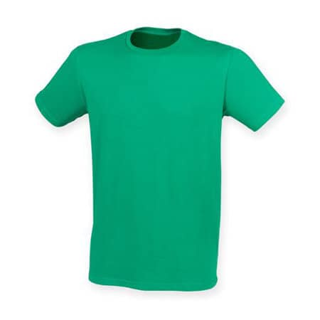 Men`s Feel Good Stretch T in Green von SF Men (Artnum: SFM121