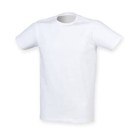 Men`s Feel Good Stretch T in White von SF Men (Artnum: SFM121