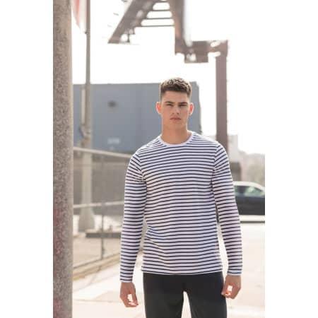 Unisex Long Sleeved Striped T von SF Men (Artnum: SFM204