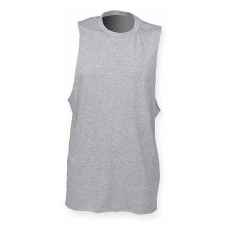 Men`s High Neck Slash Armhole Vest von SF Men (Artnum: SFM232