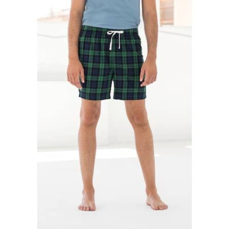 Men´s Tartan Lounge Shorts von SF Men (Artnum: SFM82