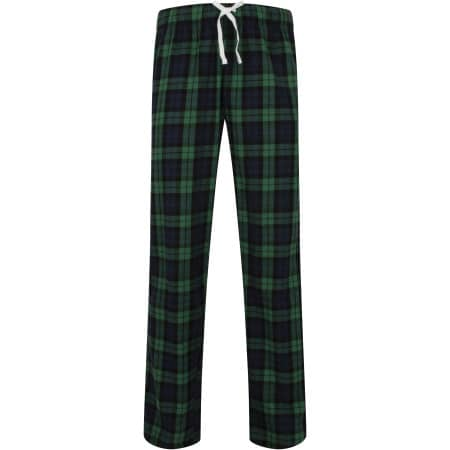 Men`s Tartan Lounge Pants von SF Men (Artnum: SFM83