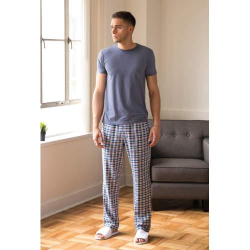 SF Men - Men`s Tartan Lounge Pants