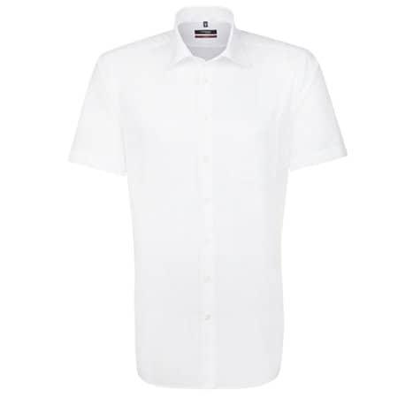 Men`s Shirt Modern Fit Shortsleeve in White von Seidensticker (Artnum: SN003001