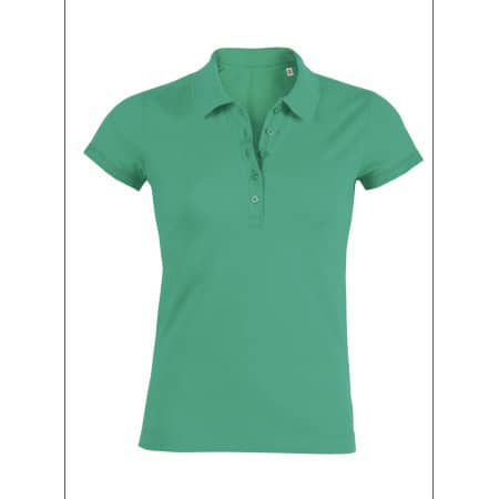 Stella Plays Poloshirt FairWear - Sale in Vivid Green von Stanley/Stella (Artnum: STPW029S