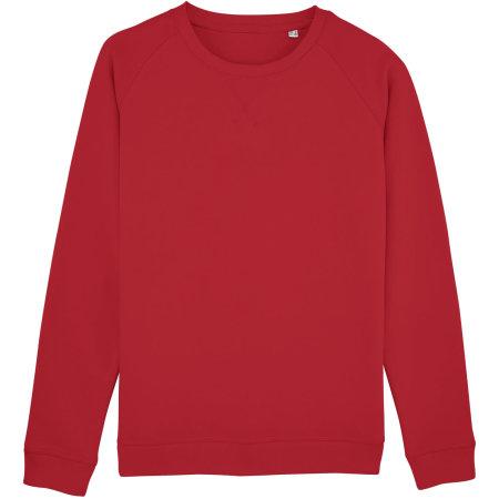 Stella Trips Sweatshirt in Red von Stanley/Stella (Artnum: STSW049