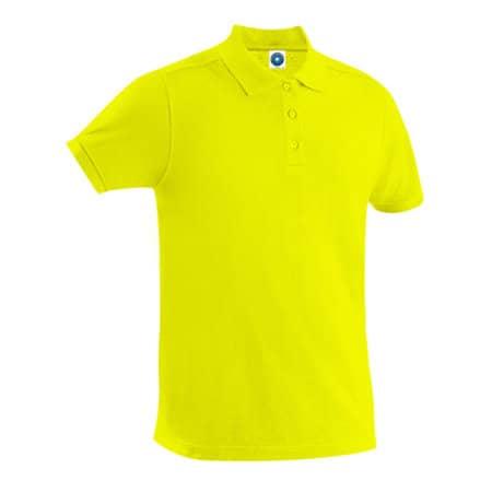 Polo Shirt in Fluorescent Yellow von Starworld (Artnum: SW144