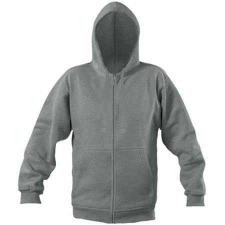 Zip Through Hooded Sweat Jacket in Sports Grey (Melange) von Starworld (Artnum: SW250