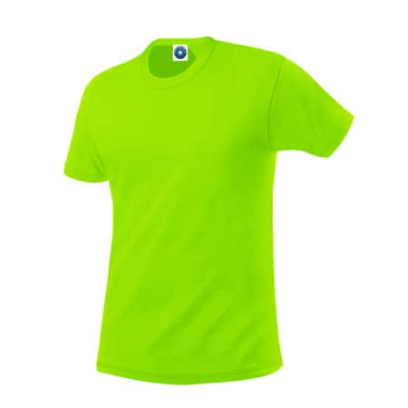 Performance T-Shirt breathable in Fluorescent Green von Starworld (Artnum: SW304