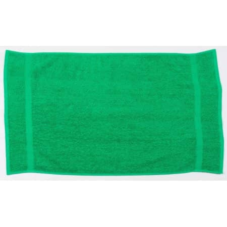 Luxury Hand Towel in Bright Green von Towel City (Artnum: TC03