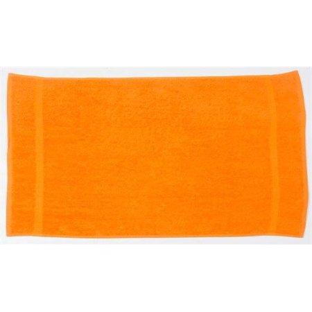 Luxury Hand Towel in Orange von Towel City (Artnum: TC03