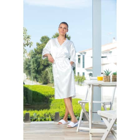 Ladies Satin Robe von Towel City (Artnum: TC054