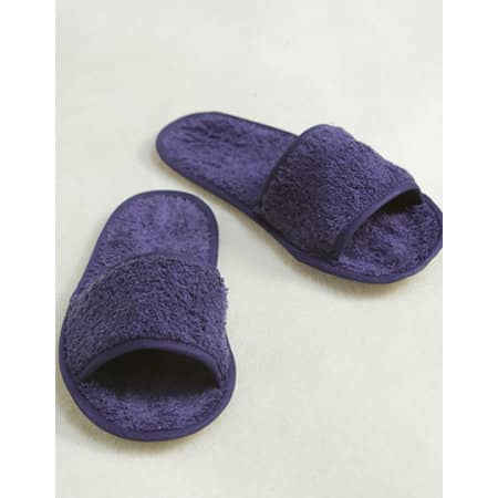 Classic Terry Slippers - Open Toe von Towel City (Artnum: TC64