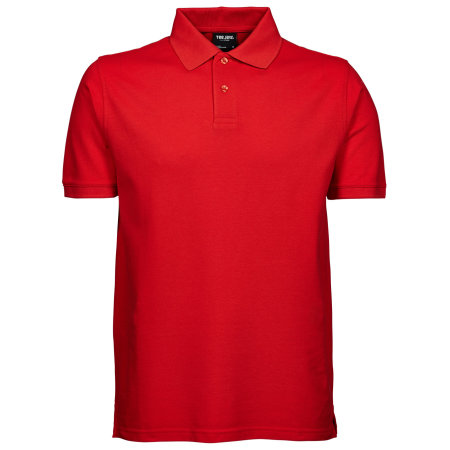 Heavy Polo in Red von Tee Jays (Artnum: TJ1400N